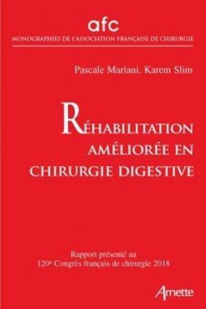 Réhabilitation améliorée en chirurgie digestive - arnette - 9782718415123 -