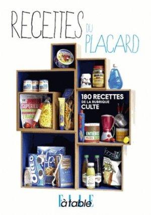 Recettes du placard - Glénat - 9782723497237 -