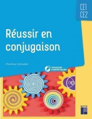 Réussir en conjugaison CE1-CE2 - Retz - 9782725639161 -