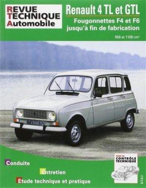 Renault ''4 GTL'' (1108 cm3) et Renault 4 TL type 112C (956 cm3)  - etai - editions techniques pour l'automobile et l'industrie - 9782726838860 -