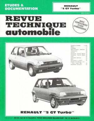 Renault '5 GT Turbo' - etai - editions techniques pour l'automobile et l'industrie - 9782726846421 -