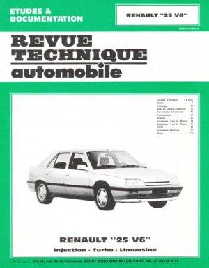Renault ''25 V6'' - etai - editions techniques pour l'automobile et l'industrie - 9782726849811 -
