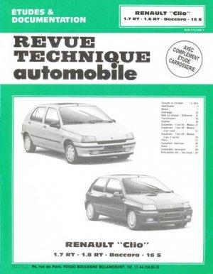 Renault ''Clio'' - etai - editions techniques pour l'automobile et l'industrie - 9782726854617 -