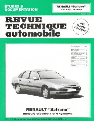Renault ''Safrane'' - etai - editions techniques pour l'automobile et l'industrie - 9782726855515 -