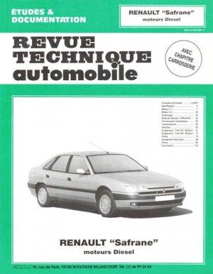 Renault ''Safrane'' - etai - editions techniques pour l'automobile et l'industrie - 9782726856116 -