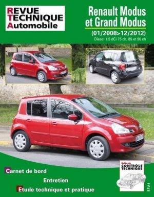 Renault Modus et Grand Modus 1,5 dCi 75, 85 et 90 ch - etai - editions techniques pour l'automobile et l'industrie - 9782726877555 -