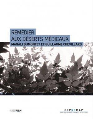 Remédier aux déserts médicaux - Rue d'Ulm - 9782728807017 -