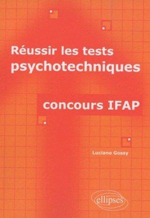 Réussir les tests psychotechniques - ellipses - 9782729856144 -