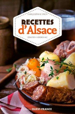 Recettes d'Alsace - Ouest-France - 9782737371059 -