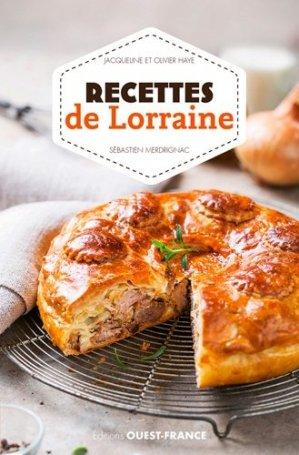 Recettes de Lorraine - Ouest-France - 9782737371103 -