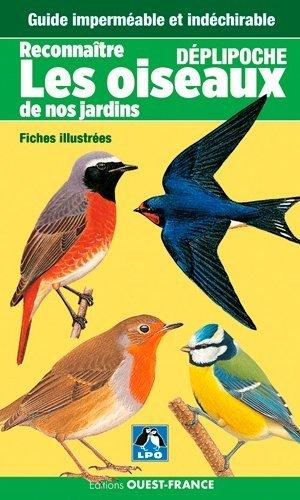 Reconnaître les oiseaux de nos jardins - ouest-france - 9782737375866 -