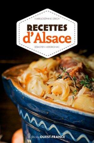 Recettes d'Alsace - Ouest-France - 9782737378188 -