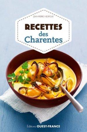 Recettes des Charentes - Ouest-France - 9782737378249 -