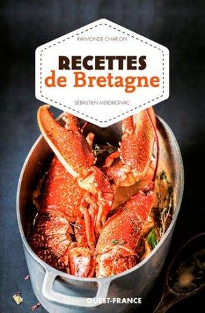 Recettes de Bretagne - ouest-france - 9782737381577 -
