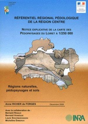 Référentiel régional pédologique de la région Centre à 1/250 000 - Inra-Quae - 9782738012555 -