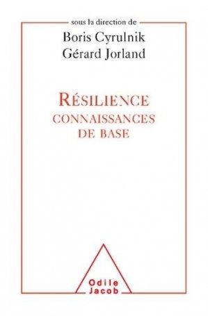 Résilience - odile jacob - 9782738128188 -