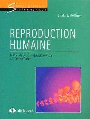 Reproduction humaine - de boeck superieur - 9782744501531 -