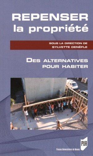 Repenser la propriété - presses universitaires de rennes - 9782753543492 -
