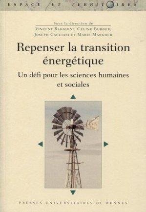 Repenser la transition énergétique - presses universitaires de rennes - 9782753578081 -