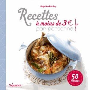 Recettes à moins de 3 euros par personne - first editions - 9782754070294 -