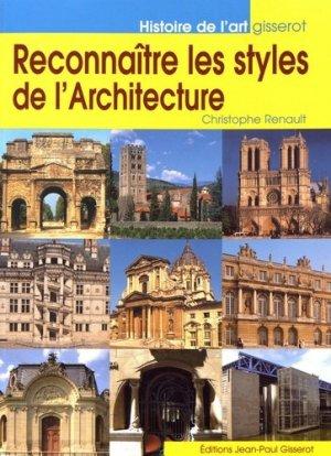 Reconnaître les styles de l'architecture - gisserot - 9782755808001 -