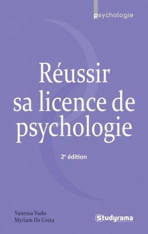 Réussir sa licence de psychologie - studyrama - 9782759032648