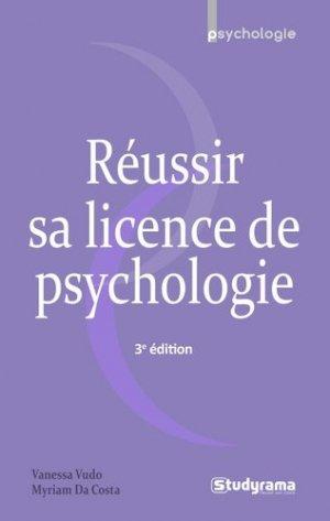 Réussir sa licence de psychologie - studyrama - 9782759040469 -