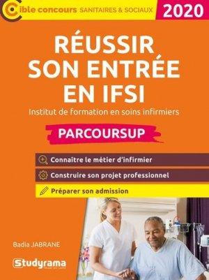 Réussir son entrée en IFSI 2020 - studyrama - 9782759041459 -
