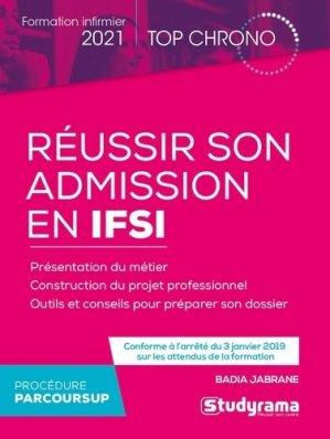 Réussir son admission en IFSI - Studyrama - 9782759046003 -