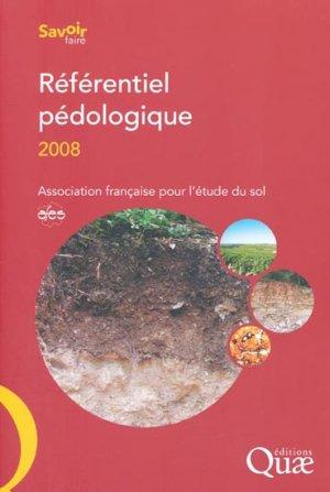 Référentiel pédologique 2008 - quae  - 9782759201853 -