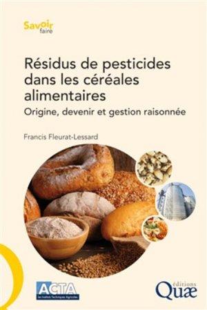 Résidus de pesticides dans les céréales alimentaires - quae  - 9782759223893 -