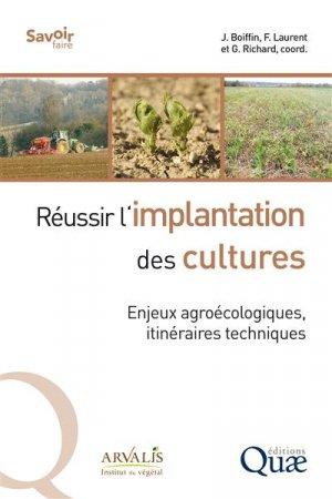 Réussir l'implantation des cultures - quae - 9782759229550 -