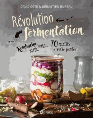 Révolution fermentation - de l'homme - 9782761946254 -