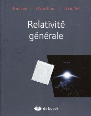 Relativité générale - de boeck superieur - 9782804101268 -