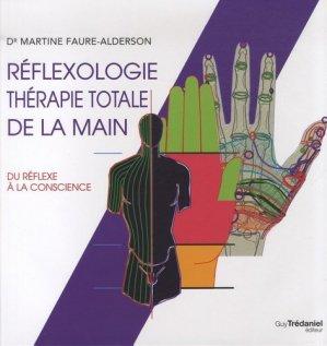 Réflexologie thérapie totale de la main - tredaniel - 9782813207180 -