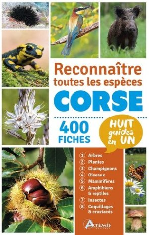 Reconnaitre toutes les espèces de Corse - artemis - 9782816009071