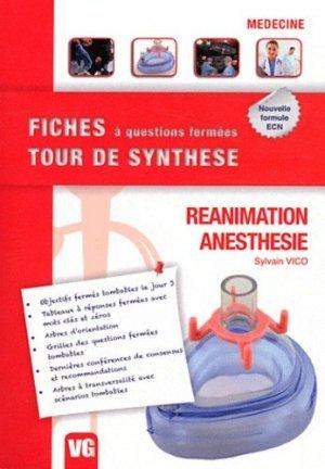Réanimation - Anesthésie - vernazobres grego - 9782818304143 -