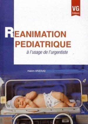 Réanimation pédiatrique à l'usage de l'urgentiste - vernazobres grego - 9782818305959 -