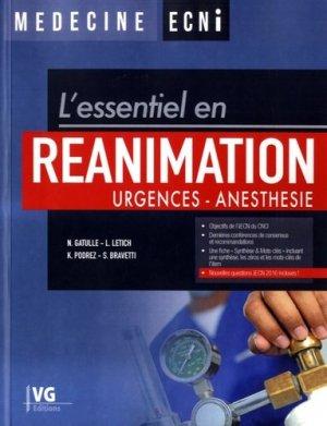 Réanimation, urgences, anesthésie - vernazobres grego - 9782818315729 -