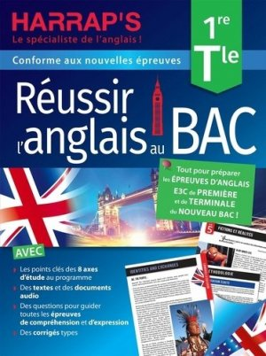 Réussir l'anglais au BAC, Terminale - Harrap's - 9782818707395 -