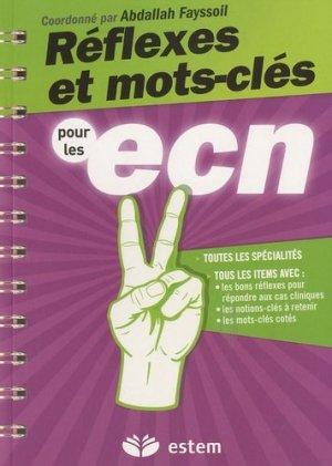 Réflexes et mots-clés pour les ECN - estem - 9782843714825 -