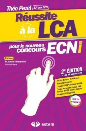 Réussite LCA - estem - 9782843718595 -