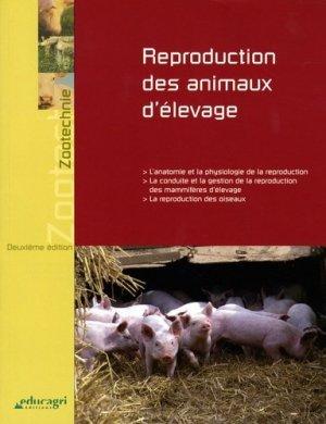 Reproduction des animaux d'élevage - educagri - 9782844444103