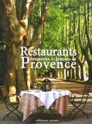 Restaurants, brasseries et bistrots de Provence - Aubéron - 9782844981189 -