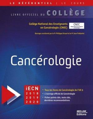 Référentiel collège de Cancérologie - med-line - 9782846782197 -