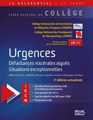 Référentiel Collège d'Urgences - med-line - 9782846782784 -