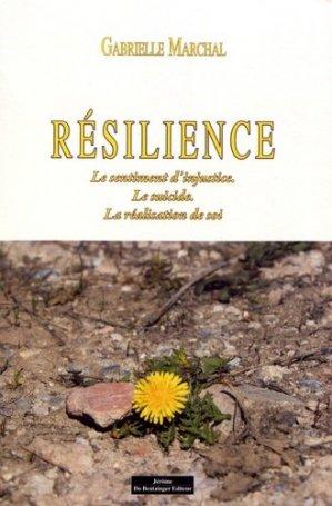 Résilience - Jérôme Do Bentzinger - 9782849606582 -