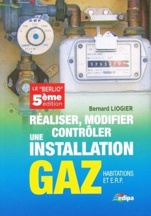 Réaliser, modifier, contrôler une installation gaz - parisiennes - 9782862431147
