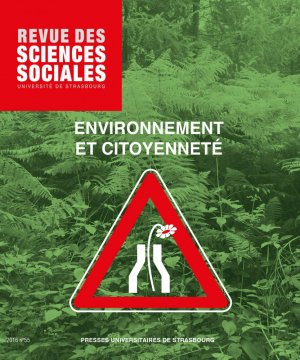 Revue des sciences sociales n° 55/2016 - presses universitaires de strasbourg - 9782868209498 -