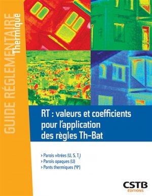 Réglementation thermique - cstb - 9782868916907 -